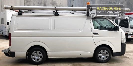 2010 Toyota Hiace Kdh201r My10 Lwb Racecourse Motor Company - Light Commercial for Sale