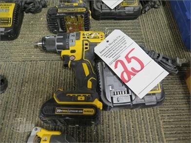 DEWALT DCD791 Auction Results - 1 Listings | MachineryTrader ... on