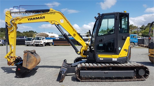 2017 Yanmar VIO80-1 - Heavy Machinery for Sale