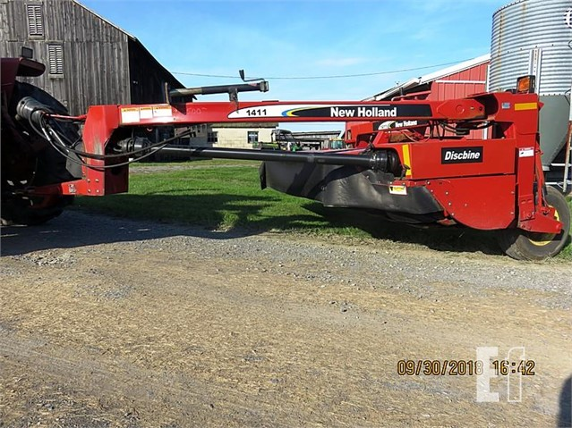 EquipmentFacts com | NEW HOLLAND 1411 Auction Results