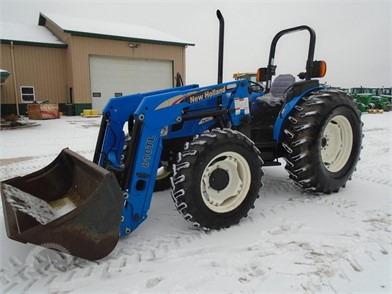 NEW HOLLAND TN75A Online Auction Results - 6 Listings