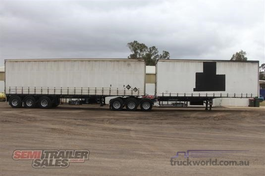 2007 Vawdrey 34 Pallet Curtainsider B Double Set - Trailers for Sale