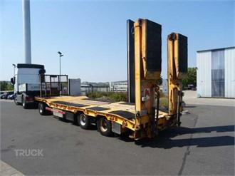 GOLDHOFER TU-L3-23/80 hydraulische Rampen BPW Achsen