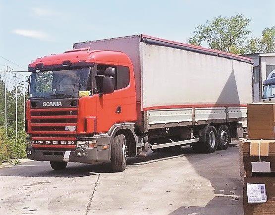 Scania R94D300 Usato