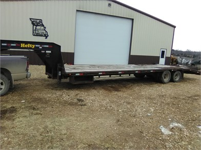 hefty flatbed trailers auction results 2 listings auctiontime com page 1 of 1 hefty flatbed trailers auction results