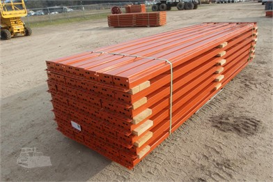 LOT OF PALLET CROSS BEAMS (48) 12 X 6 (3 PIN) Auction