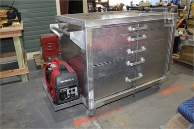 Alum  Roll Around Tool Box Other Auction Results - 1 Listings