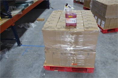PALLET OF (58) 1 32 GAL CONTAINERS OF SEALE Other Auction