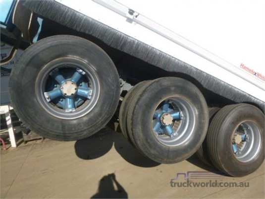 2002 Hamelex White Tipper Trailer Western Traders 87 - Trailers for Sale