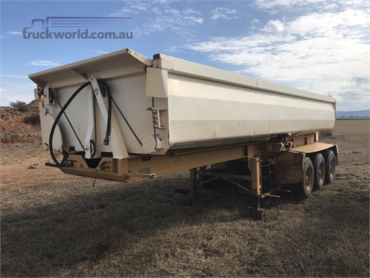 1991 Howard Porter Tipper Trailer Western Traders 87 - Trailers for Sale