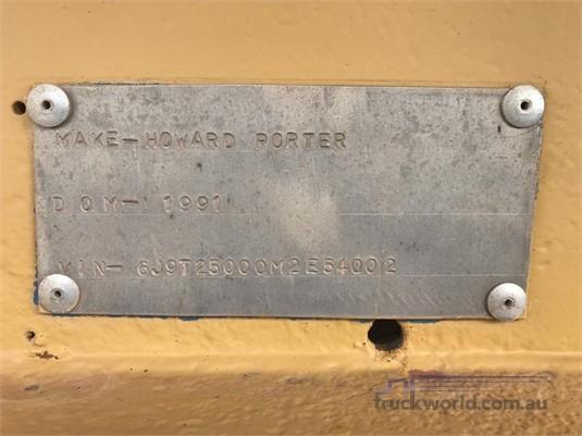 1991 Howard Porter Tipper Trailer Western Traders 87 - Trailers for Sale