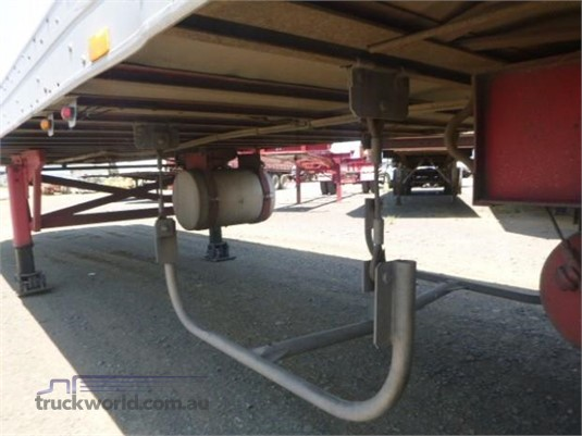 1996 Maxi Cube Refrigerated Trailer Western Traders 87 - Trailers for Sale