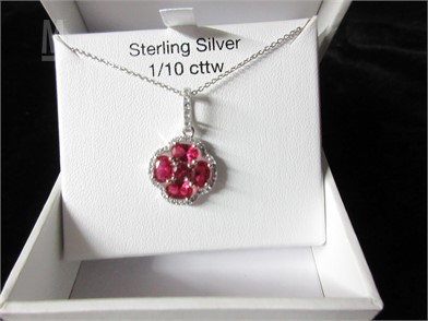 b6fc503f7 Sterling Silver Necklaces / Pendants Fine Jewelry Jewelry Auction ...