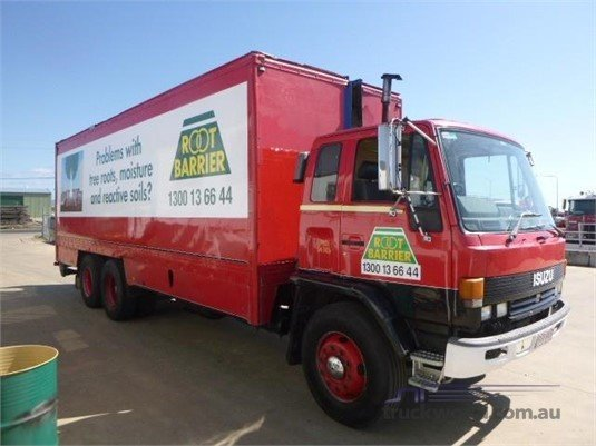 1988 Isuzu FVR 900 Pantech truck for sale Western Traders 87 in
