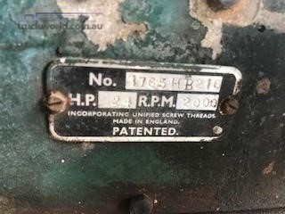 0 Custom 24hp Motor with Irrigation Pump Western Traders 87 - Farm Machinery for Sale