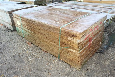 APPROX  (68) 11/32X4X8 RTD PLYWOOD Other Auction Results - 1