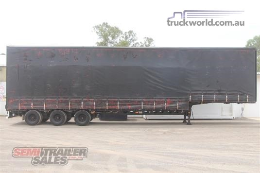 2002 Maxitrans 22 Pallet Drop Deck Curtainsider - Trailers for Sale