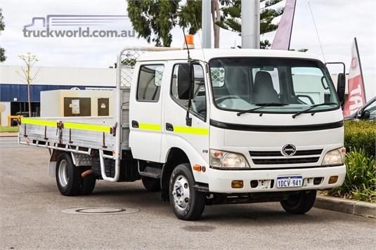 2008 Hino 300 Series 816 Crew - Truckworld.com.au - Trucks for Sale