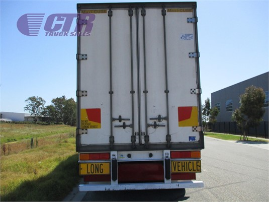 2003 Maxitrans Refrigerated Trailer CTR Truck Sales - Trailers for Sale