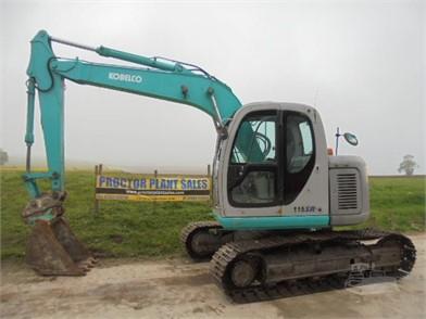 KOBELCO SK115 For Sale - 2 Listings   MachineryTrader com