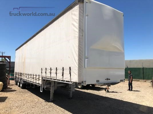 2005 Vawdrey 45FT Curtainsider Drop Deck Adelaide Truck Sales - Trailers for Sale
