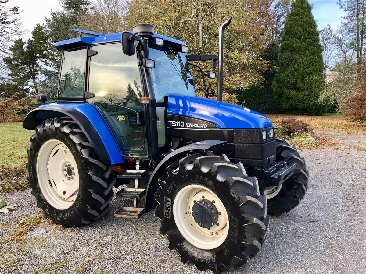 Beliebt Bevorzugt Used 2003 NEW HOLLAND TS100 For Sale in Tullow, Ireland (ID #IR_64