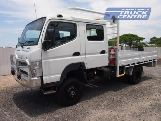 2013 Fuso Canter FG 4x4 Crew Cab Murwillumbah Truck Centre - Trucks for Sale