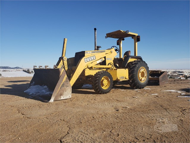 2004 DEERE 210LE For Sale In Elbert, Colorado