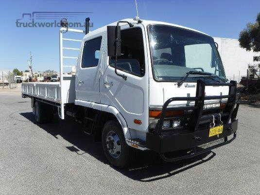 2002 Mitsubishi FK617 Dual Cab Raytone Trucks - Trucks for Sale