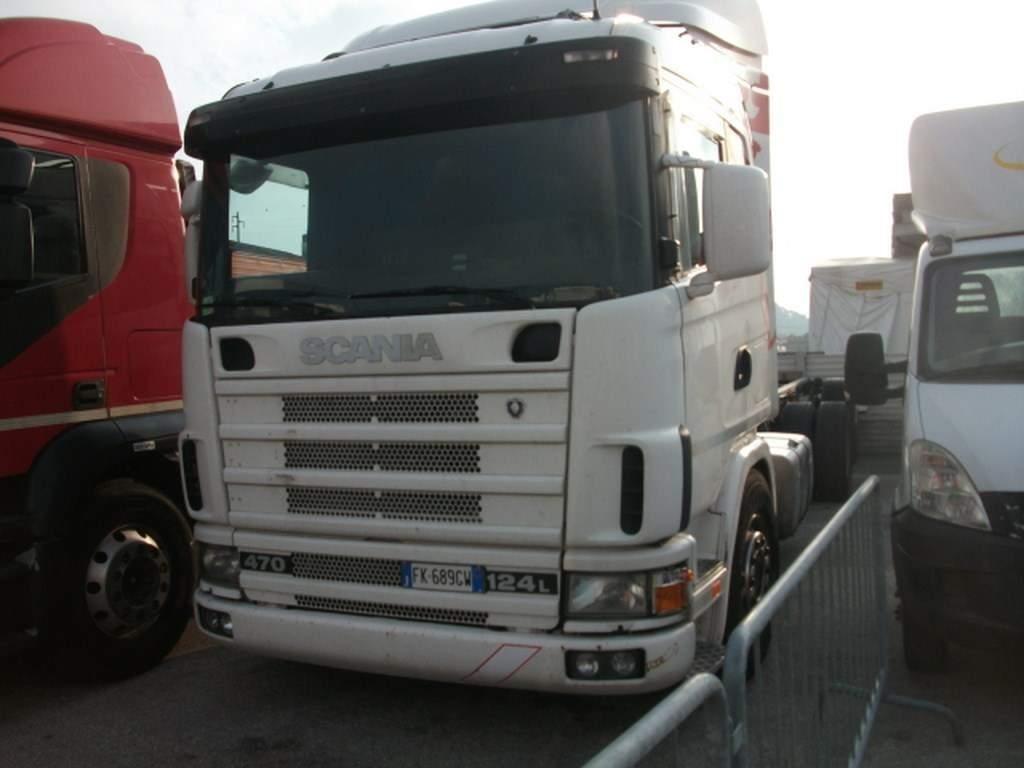 Scania P124L470 #Used