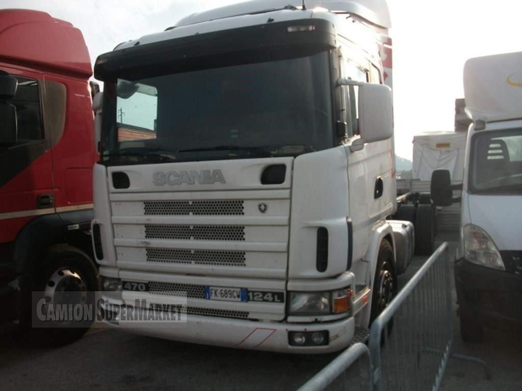 Scania P124L470 used 2003 Veneto