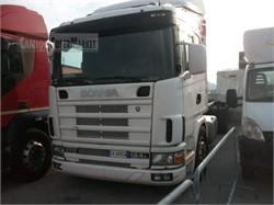 Scania P124l470  Uzywany