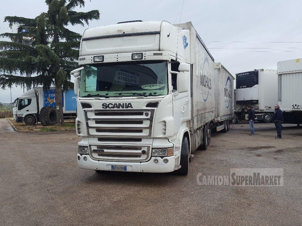 Scania R500 used 2008 Lazio