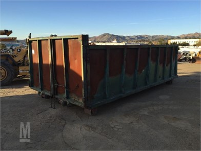 16' X 8' X 4' Roll Off Bin  Other Auction Results - 2