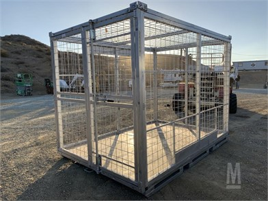 10' X 7' X 7' WIRE CONTAINER  Other Auction Results - 2 Listings