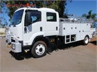 2012 Isuzu FSS 550 4x4 Service Vehicle