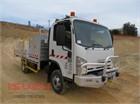 2010 Isuzu NPS 300 4x4 Service Vehicle