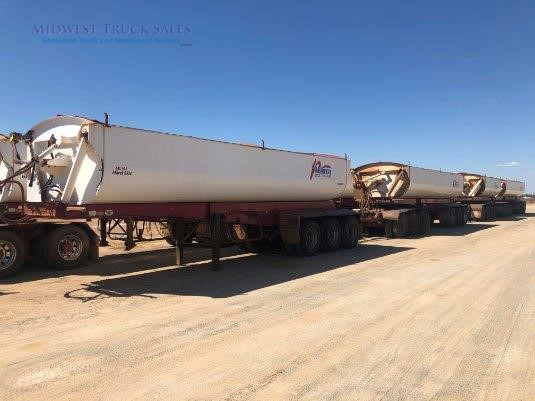 2007 Roadwest Side Tipper Trailer Midwest Truck Sales - Trailers for Sale