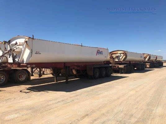 2011 Roadwest Side Tipper Trailer Midwest Truck Sales - Trailers for Sale