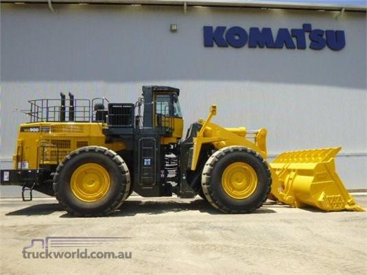 2012 Komatsu WA900-3 - Heavy Machinery for Sale