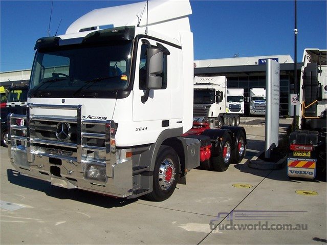 2012 Mercedes Benz Actros 2644 Prime Mover truck for sale
