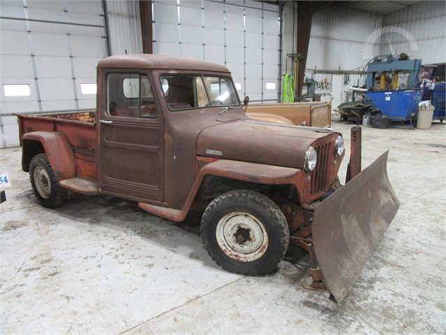 Willys Jeep For Sale >> Auctiontime Com 1948 Willys Jeep Truck Online Auctions