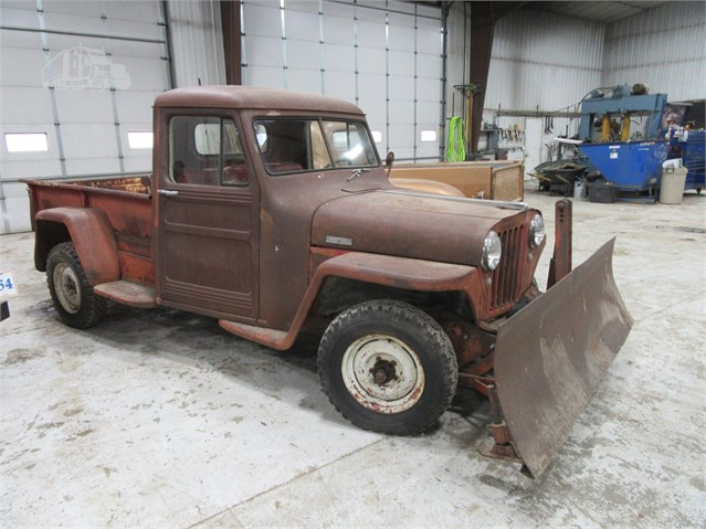 Willys Jeep Truck For Sale >> 1948 Willys Jeep