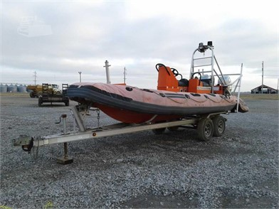 ZODIAK HURRICANE 22' INFLATABLE BOAT W/ TRAILER Other ... on
