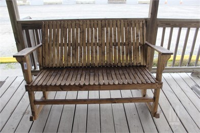 Homemade Wooden Double Rocking Chair Other Auction Results