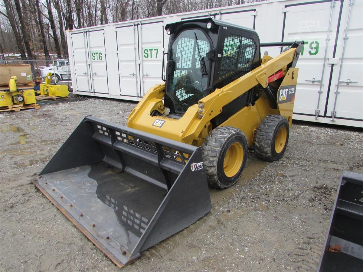 2015 CAT 272D For Sale In Pittsfield, Massachusetts