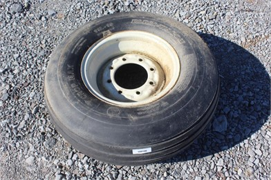 Unused 11L 15 Trailer Tire W Rim Other Items Auction
