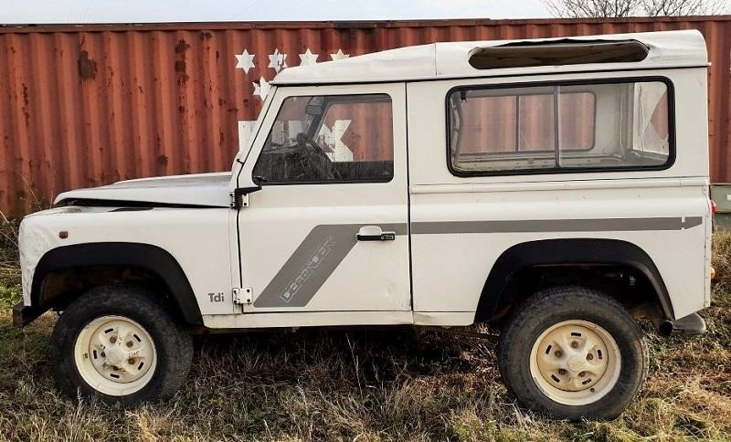 LAND|ROVER DEFENDER Second-hand