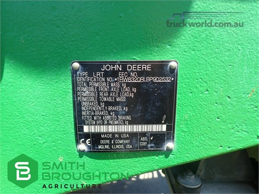 2011 John Deere 8320RT - Truckworld.com.au - Farm Machinery for Sale