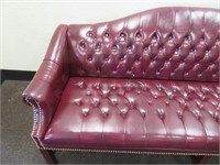 Tufted Sofa 35 x 76 x 26